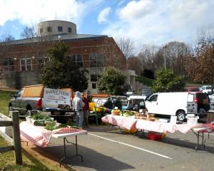 Farmers Booth at Davidson Farmers Market